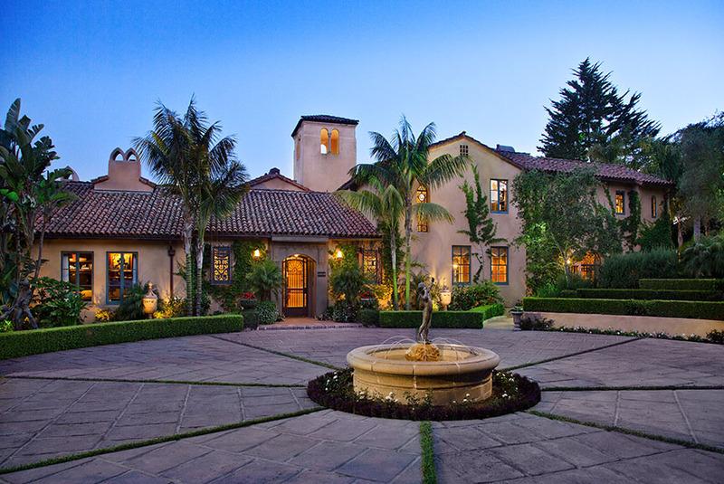 Montecito estate renovation dd ford construction santa barbara california - Residence de luxe montecito santa barbara ...